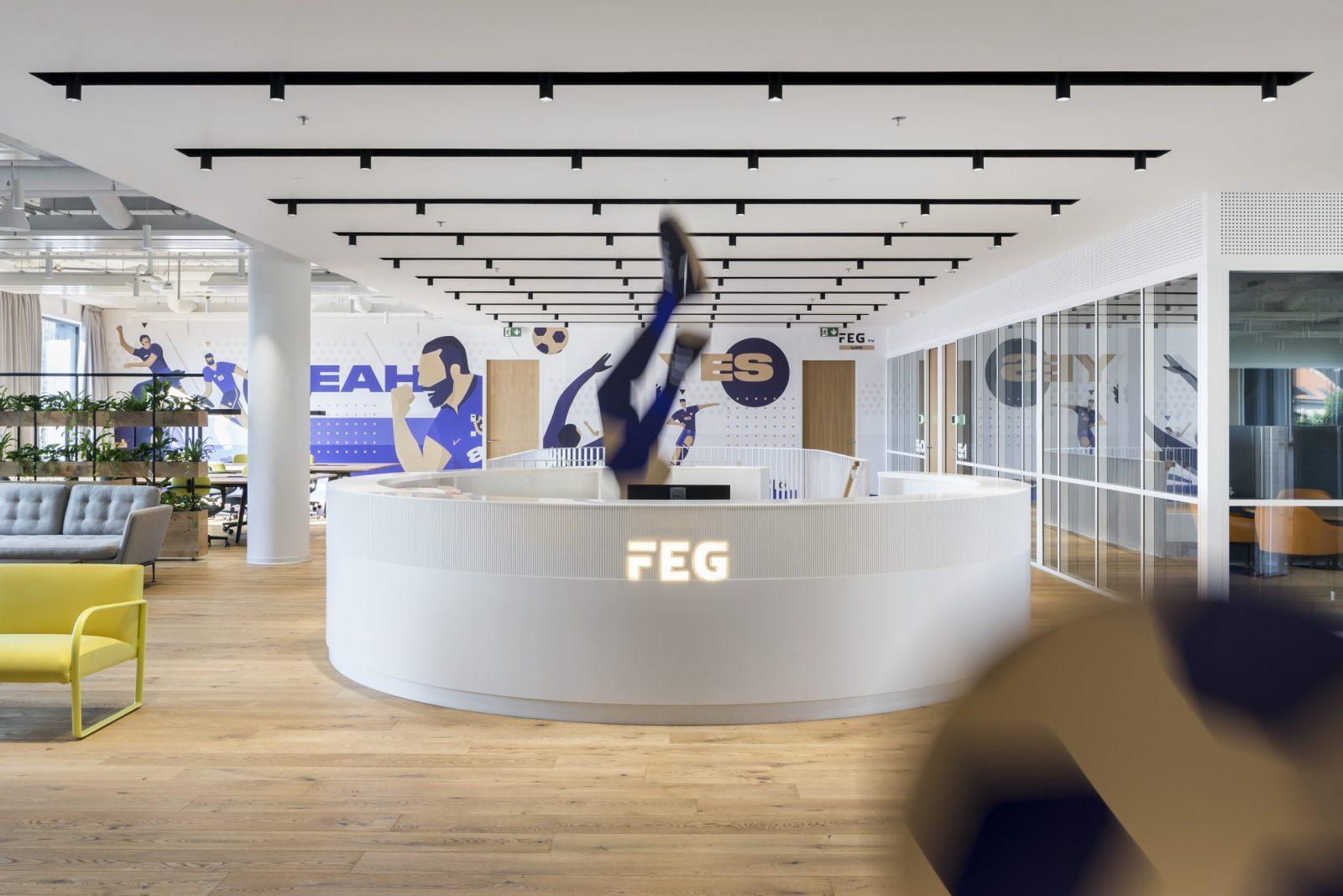 Agilní kanceláře pro Fortuna Entertainment Group