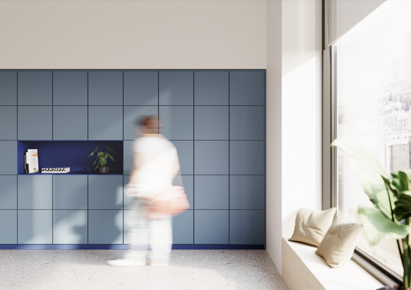 Lockers - elegantní úložný systém