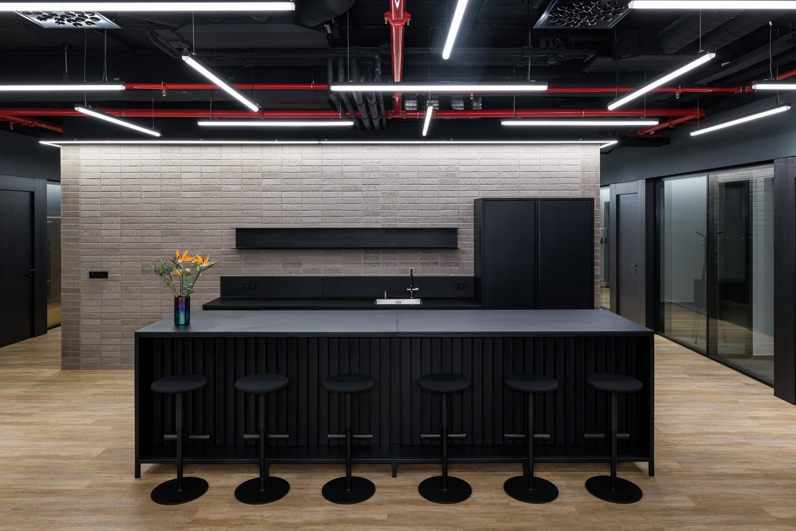 Firemní kuchyňka v brněnských kancelářích ESET