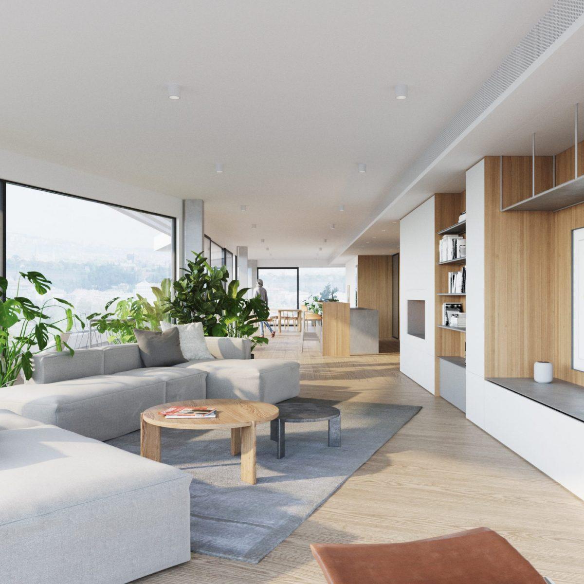 Moderní penthouse